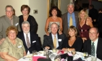 Table #6 - Bill 65 & Marilyn Conforti Koczan 69; Betty, Larry 65 & Mary Betty; Gerry 65 & Brenda Hynes; John
