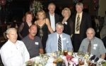 Table #7 - Grace Gurval Makuch '65 & Bill Myer; Sean Dougherty'65; ED Nass'65; Carolyn Maran Zambell'65 & Anton 'Ch