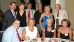 Table #9 - Barry 64 & Ann Peterson Dereamer '71; David '62 & Mary Dereamer;  Pat & Richard Montele