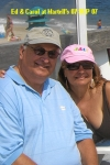 08 SEP 07 Ed Dulik '65 & Carol Masterangelo '65 at Martell's Tiki Bar