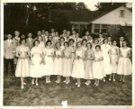 Calss of 1958 8th grade prom
