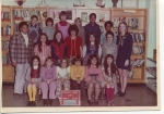 Mrs. Jeannie Caverly's 5th grade class (1974-1975).