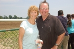 June Williams and Ed O'Connor at Monmouth Park Race Track, June 2008