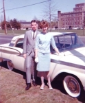 June Williams and Ed O'Connor  Easter 1961