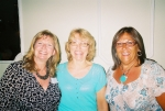 35th reunion Sharon, Susan and Nancy