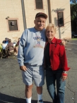 Bruce Henderson and Kathleen   Messaros (tailgate party)