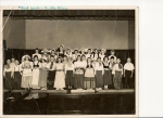 3rd Grade Dutch play('51-'52)RHS Class of '61.  Bottom Row(L to R): Ron Kennedy, Bruce Thompson, ______, Tim Nestrick
