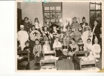 Mrs. Liddy's 4th Grade Class-Halloween 1952. RHS Class of '61.  Bottom Row(L to R): Ginny Pavelec, Bill Baker, Rose Ma