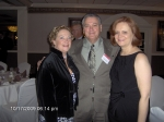 Donna White, John Domici and John's wife