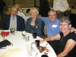 Sept 2010 class 1960 50th reunion  Dan Franceski, Rose Salas Pelton, Joe Infanger & wife Mary
