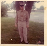 Marine Diz 1966 fresh out of bootcamp on the way to Nam