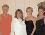 Sandy Stokes, Carol M '65, Teri 'Alex' Zerns '65, Pam Keller '65, All Class Reunion Florida 2003